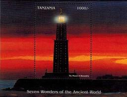 MPH-BK1-084-2 MINT  PF/MNH ¤ TANZANIA 1997 BLOCK ¤ BRANDARIS - VUURTORENS - PHARES - LEUCHTURME - LIGHTHOUSES- - Phares
