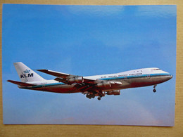 KLM  B 747-206B   PH-BUA   /  Collection Vilain N° 1427 - 1946-....: Modern Era