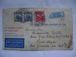 CZECHOSLOVAKIA - LETTER SENT TO PORTO ALEGRE (BRAZIL) VIA AEROPOSTALE IN 1929 IN THE STATE - Brieven En Documenten