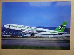 TRANSAVIA HOLLAND   B 707-123B   PH-TVA     /  Collection Vilain N° 1429 - 1946-....: Modern Era