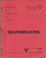 Livret D'instruction élève Officier Armée De L'air BA 720 Caen-Carpiquet - Transmissions - 1963 - Otros