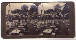 Stéréo 101, American Stereoscopie Compagny A 751, Berlin Germany, Kroll's Garden, All Ablaze With Electric Lamp - Stereoscopic