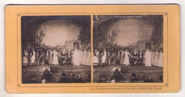 Stéréo 079, Opéra Comique La Fille Du Tambour-major, Offenbach, SIP 1,  Au Couvent, Les Adieux - Stereoscopic