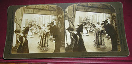 Stéréo 019, HC White CO 5486, The Ballroom, Salute Partners, Bon état - Stereoscopic
