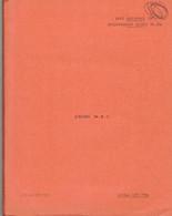 Livret D'instruction élève Officier Armée De L'air BA 720 Caen-Carpiquet - Cours N.B.C. - 1966 - Otros