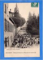 54 MEURTHE ET MOSELLE - BACCARAT Montée De Deneuvre Et Pensionnat De Gondrecourt (voir Description) - Baccarat