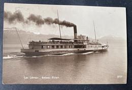 Lac Léman Bâteau Evian - Steamers