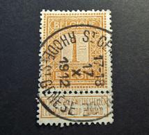 Belgie Belgique - 1912 -  OPB/COB  N° 108 -  1 C  - Obl.  SINT GENESIUS RODE - 1912 - 1912 Pellens