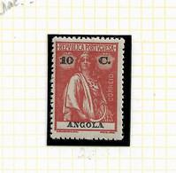 ANGOLA STAMP - 1914 CERES P.LISO (1918-21) D:15X14 Md#151 MNH (LAN#52) - Angola