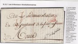 """Précurseur """"Les Tribunaux Révolutionnaires"""". Voir Les Scans Tout Est Indiqué. Avec Une Partie Du Contenu - 1701-1800: Vorläufer XVIII"""