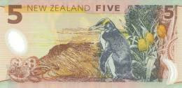 NEW ZEALAND P. 185a 5 D 1999 UNC - New Zealand