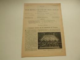 """Origineel Knipsel ( 4577 ) Uit Tijdschrift """" Touring Club De Belgique """" 1934 :  Tournai   Doornik - Unclassified"""