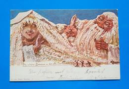 DIE SHONE BERNINA U DER ALTE MORTERATSCH. 1898. - GR Grisons