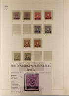 GERMAN POST OFFICES IN TURKEY 1884 - 1908 FINE MINT COLLECTION With Many Identified Shades And Types, Many Stamps Are Ne - Non Classificati