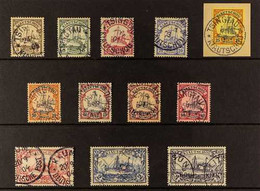 KIAOCHOW 1901 No Watermark Set Complete To 3m, Michel 5/16 Or SG 11/22, Very Fine Used. (12 Stamps) For More Images, Ple - Non Classificati