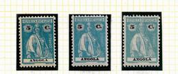 ANGOLA STAMP - 1914 CERES P.LISO (1924-25) D:12 X 11½  Md#148 MH-MNH (DIF. TONES) (LAN#63) - Angola