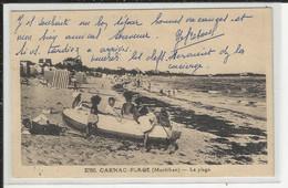 Carnac Plage La Plage Riviére Et Bureau - Carnac