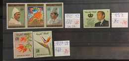 MAROC : SELECTION OF STAMPS  MNH - Maroc (1956-...)