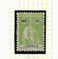 ANGOLA STAMP - 1914 CERES P.LISO (1924-25) D:12 X 11½  Md#153 MH (LAN#74) - Angola