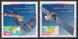 Allemagne (RFA) YT 1358/59 Mi 1526/27 Année 1991 (MNH **) Satellites, Espace - Space - Nuovi