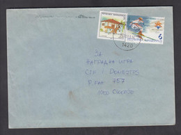 REPUBLIC OF MACEDONIA, COVER, MICHEL 273, 243 - Skiing, , Japan, Olympic Games, Arhitecture, Geography + - Macedonia