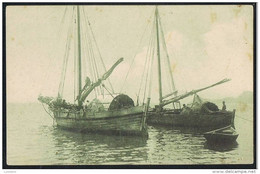 EAST TIMOR Oriental Ex Portugal Colonial - CORCORAS EMBARCAÇÕES COSTEIRAS - VOILIERS BATEAU - East Timor