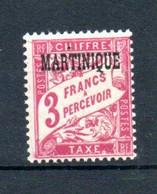 W-4 Martinique  Taxes N° 11 ** . A Saisir !!! - Portomarken