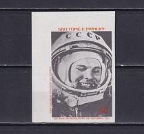 SAO TOME AND PRINCIPE 1977, Mi# 493 B, Imperf, Part Set, Cosmonaut, Gagarin, MNH - Sao Tome En Principe