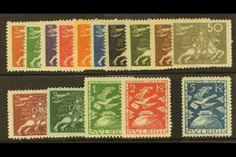 1924 50th Anniv Of The UPU Complete Set, SG 161/175 Or Michel 159w/173w, Very Fine Mint. (15 Stamps) For More Images, Pl - Non Classés