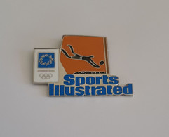 ATHENS 2004 OLYMPIC GAMES - Sports Illustrated Pin, Beach Volley - Jeux Olympiques
