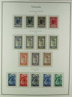 1950-1975 VIRTUALLY COMPLETE FINE MINT & NHM COLLECTION In A Hingeless Album, All Different, Many Stamps Are Never Hinge - Venezuela