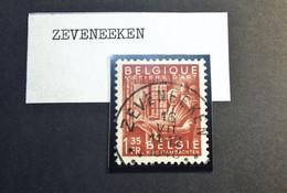 Belgie Belgique - 1948 -  OPB/COB  N° 762 -  1.35 F   - Obl.  - ZEVENEEKEN - 1948 - Used Stamps