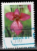 Bund 2019,Michel# 3471 O Blumen:Wild-Gladiole - Gebraucht