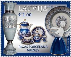 Latvia Lettland Lettonie 2021 (12) Museums Of Latvia - Riga Porcelain Museum - Lettonia