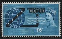 Großbritannien 1963 - Mi-Nr. 365 Y ** - MNH - Phosphor - Pazifik-Kabel - Nuovi