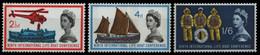 Großbritannien 1963 - Mi-Nr. 359-361 Y ** - MNH - Phosphor - Konferenz - Nuovi