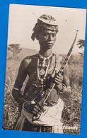East Timor Oriental - Guerreiro De Atabai - Bobonaro - Real Photo Postcard - East Timor