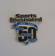 ATHENS 2004 OLYMPIC GAMES - Sports Illustrated Pin, 50 Years - Jeux Olympiques
