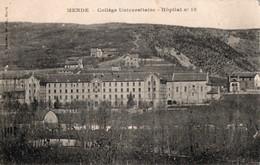 MENDE ( 48 ) - Collège Universitaire - Hôpital N° 19 - Mende