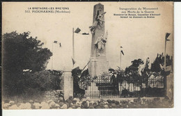 La Bretagne Les Bretons Plouharnel Inauguration Du Monument Aux Morts De La Guerre Discours En Breton De Mr. Le Rouzic - Otros Municipios