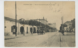 AFRIQUE - ALGERIE - HUSSEIN DEY - Rue De Constantine Près De La Plage - Otras Ciudades