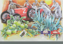 96 TARGA FLORIO 2012 ACI PALERMO 21x30 Bugatti 1 - Litografía
