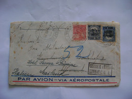 BRAZIL / BRASIL - LETTER SENT FROM PORTO ALEGRE TO MAILAND (ITALY) VIA AEROPOSTALE IN 1929 IN THE STATE - Lettres & Documents