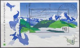 BRD  Block 47, Gestempelt, Europa Cept: Natur- Und Nationalparks, 1999 - Bloques