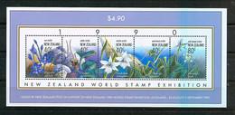 New Zeeland 1990 NZ World Stamp Exhibition  *** - Blocs-feuillets