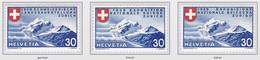 Switzerland 1939 Piz Roseg Mountains Berge Mint - Nuovi