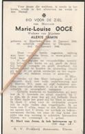Meerbeke, Okegem, 1946, Marie OOge, Samin - Santini