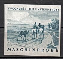 Probedruck Test Stamp Specimen Maschinprobe Staatsdruckerei Wien Mi. Nr. 1159 - Ensayos & Reimpresiones