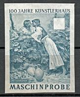 Probedruck Test Stamp Specimen Maschinprobe Staatsdruckerei Wien Mi. Nr. 1088 - Ensayos & Reimpresiones
