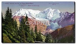 CPA Chemin De Fer Le Fayet Mont Blanc - Chamonix-Mont-Blanc